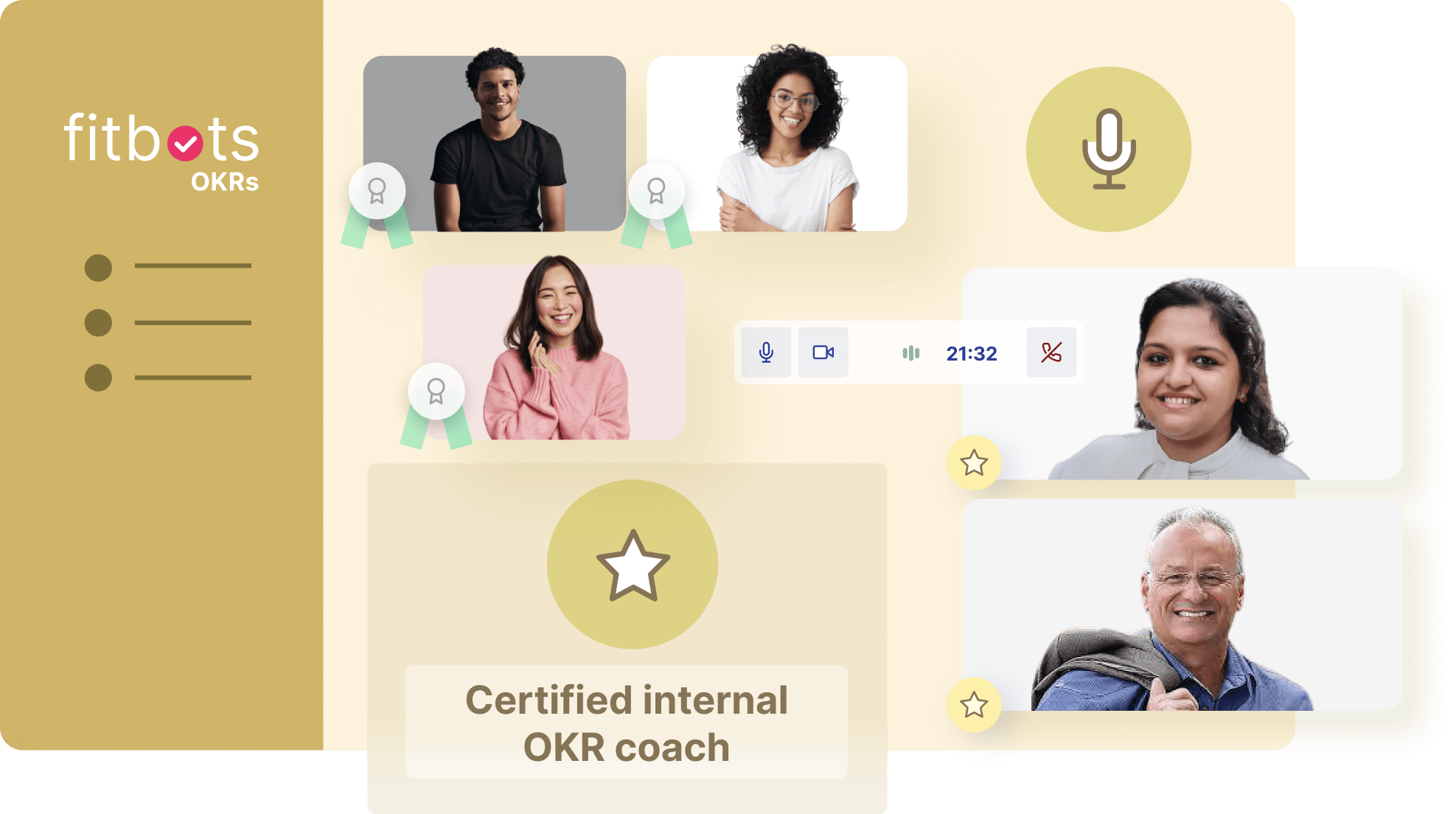 Fitbots OKRsTraining & Certification . Rated #1 in OKRs Certification and training.