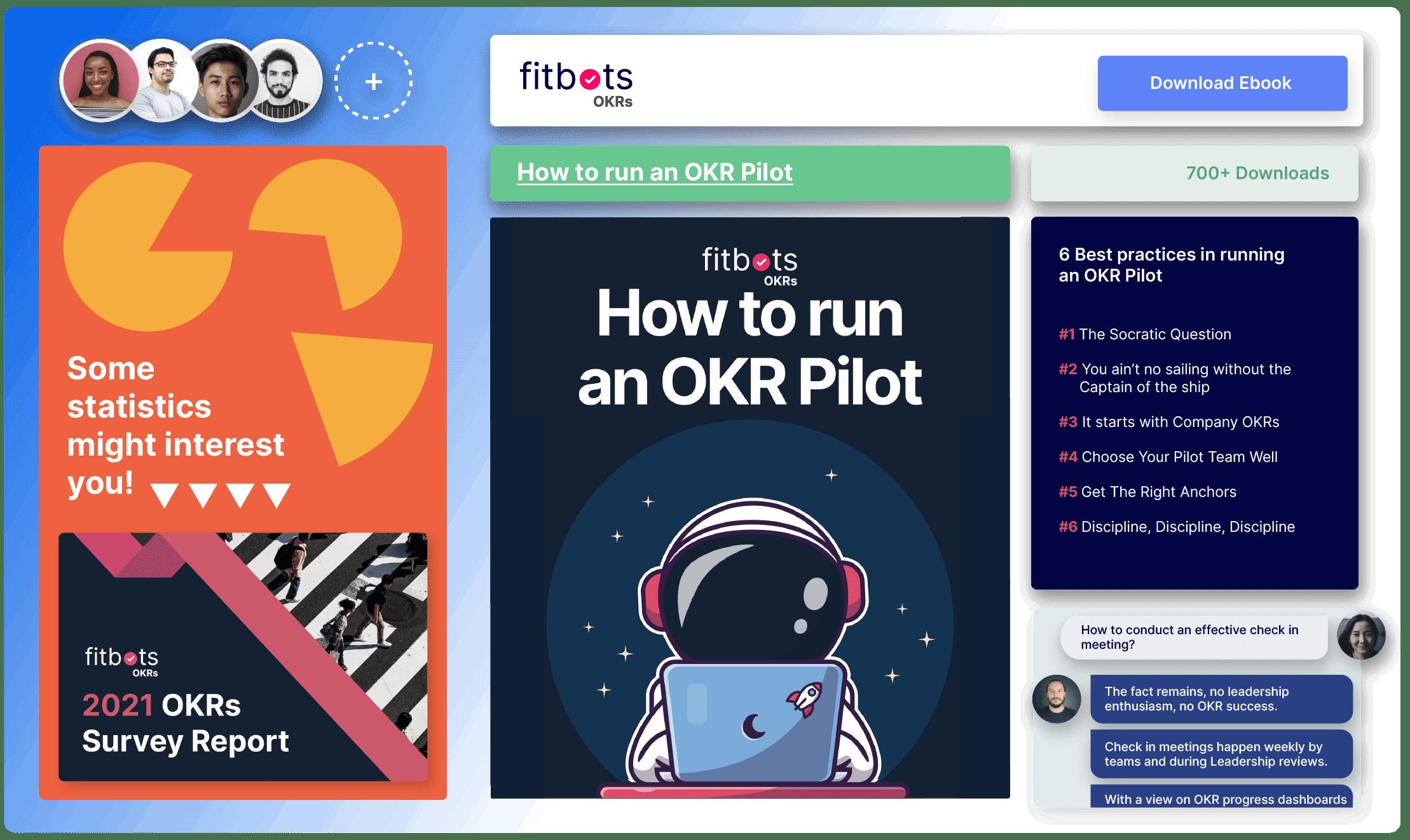 Fitbots OKRs Ebooks, OKR Experts, OKR Software, OKR Coaching, OKRs Training