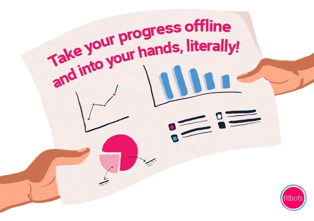 Take your OKR progress offline