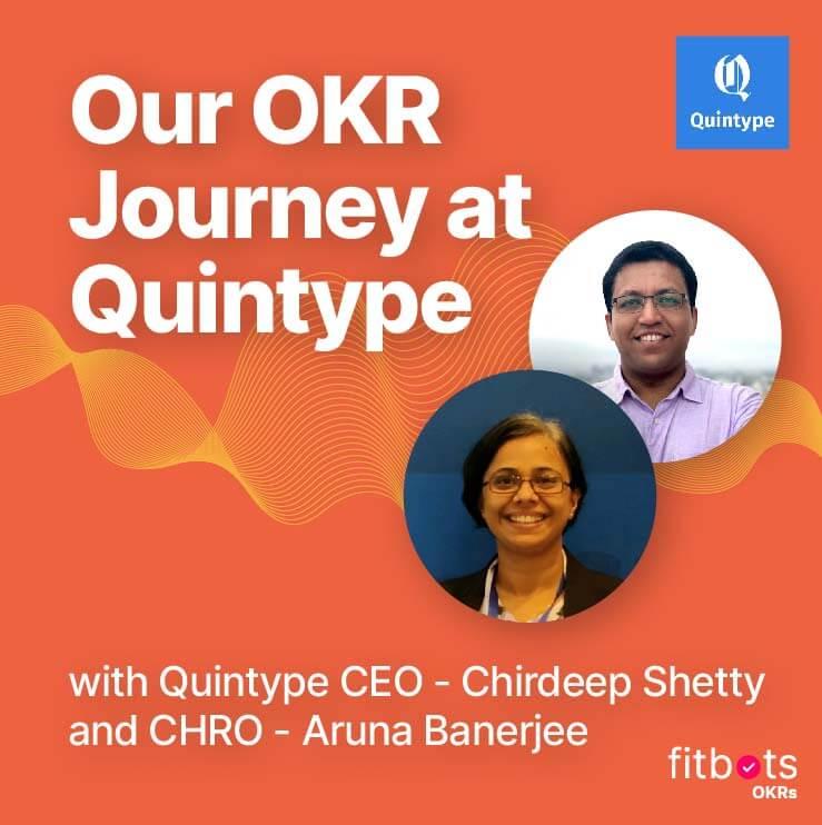 OKR Journey with Quintype