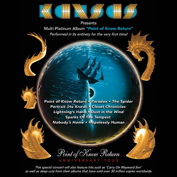 Kansas: Point of Know Return Tour