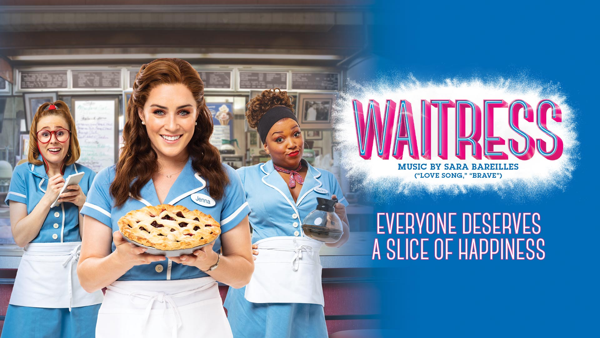 waitress, sara bareilles, broadway, tysons, capital one hall, musical, things to do, capital one center
