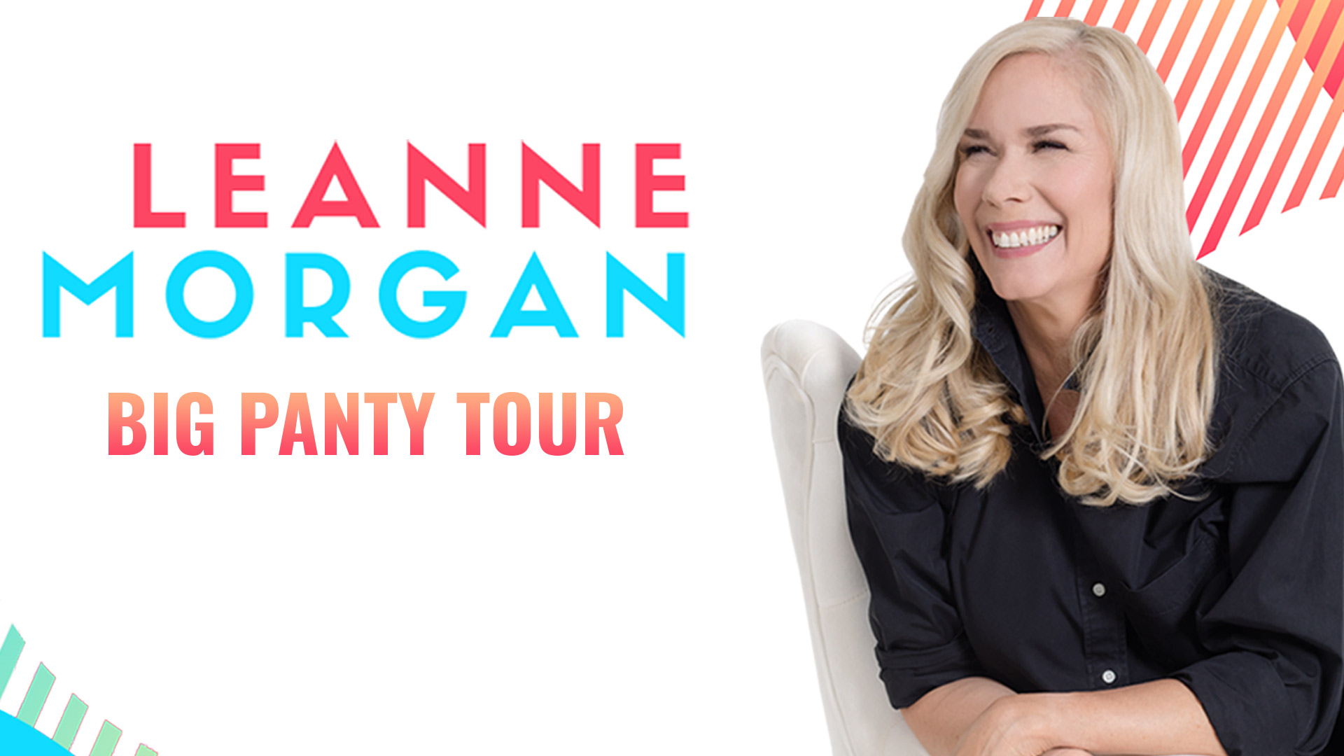 Leanne Morgan, comedy, stand up comedy, capital one hall, capital one center, things to do in DC, comedian, Tysons, Big Panty Tour, So Yummy