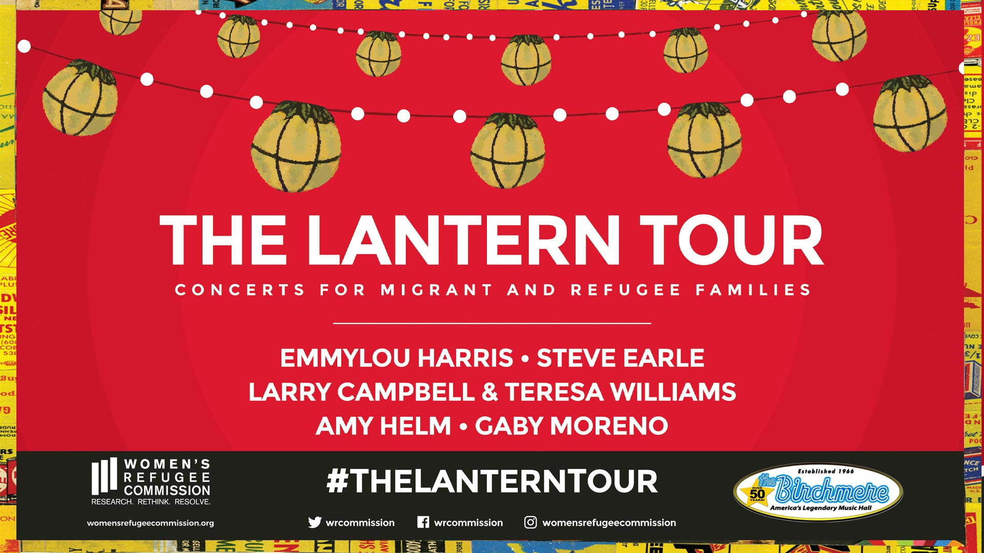the lantern tour, concert, capital one hall, capital one center, things to do in DC, Tysons, women's refugee commission, birchmere presents, emmylou harris, steve earle, amy helm, larry campbell, teresa williams, gaby moreno