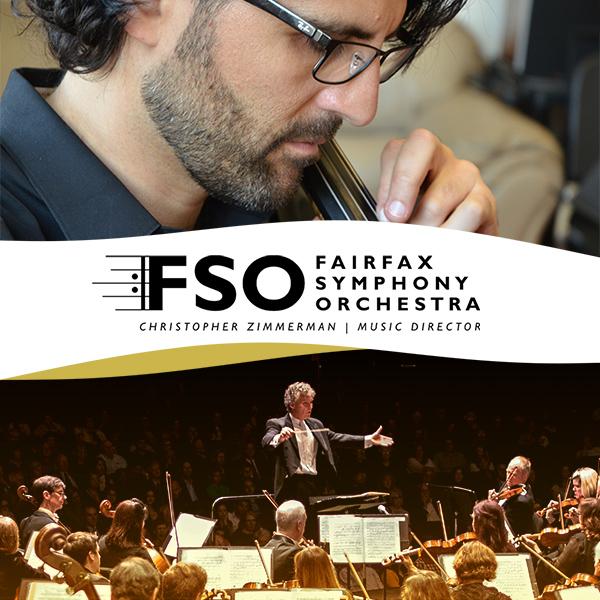 Fairfax Symphony Orchestra presents Bernstein, Saint-Saëns & Beethoven