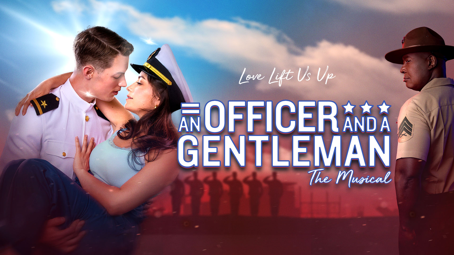 an officer and a gentleman, richard gere, debra winger, up where we belong, broadway, tysons, capital one hall, musical, things to do, capital one center