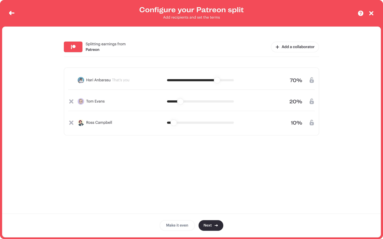 Stir Split summary of Patreon
