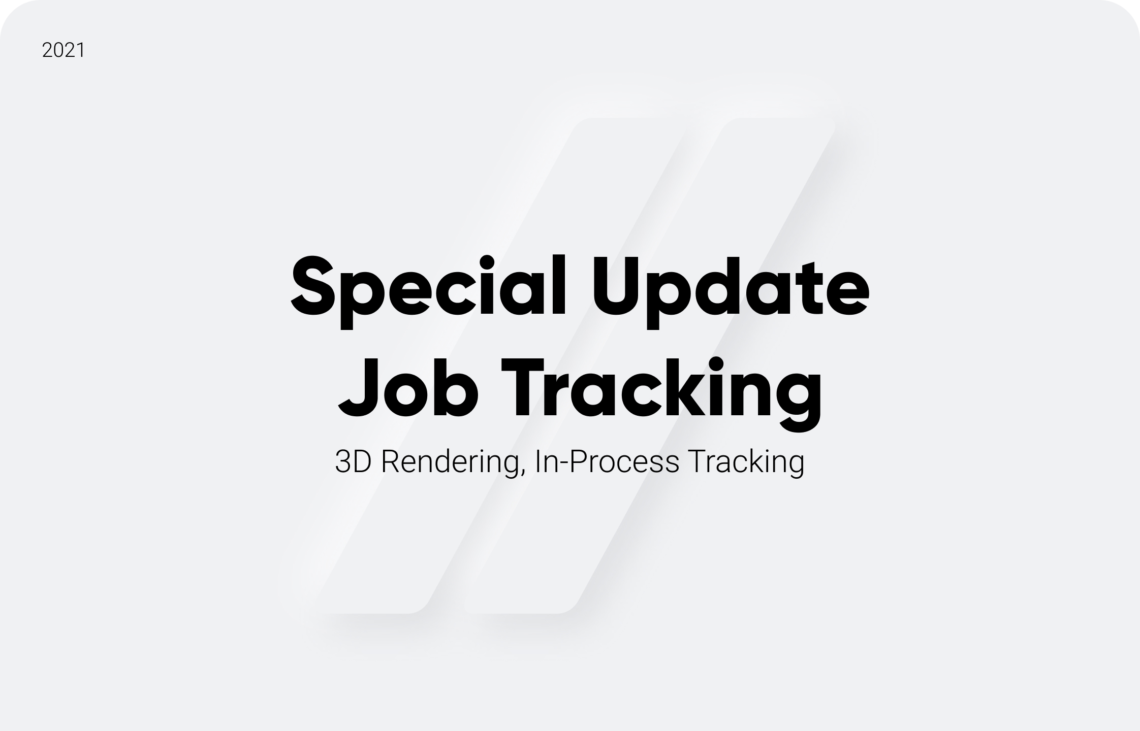 Special Update: Job Tracking