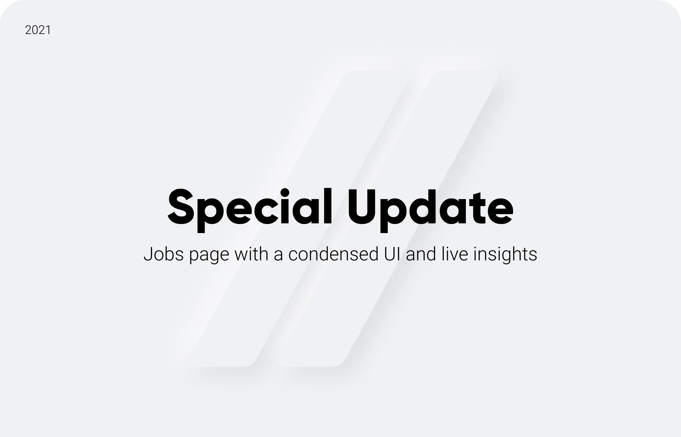 Special Update: Jobs Page