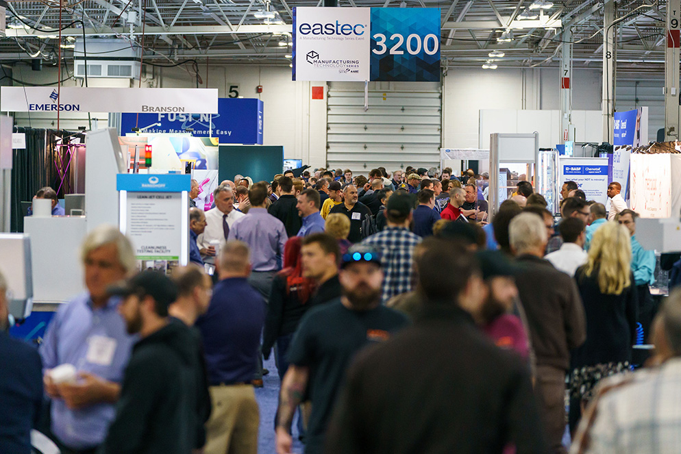 Meet Fulcrum at EASTEC, the Largest Manufacturing Trade Show in the Northeast!