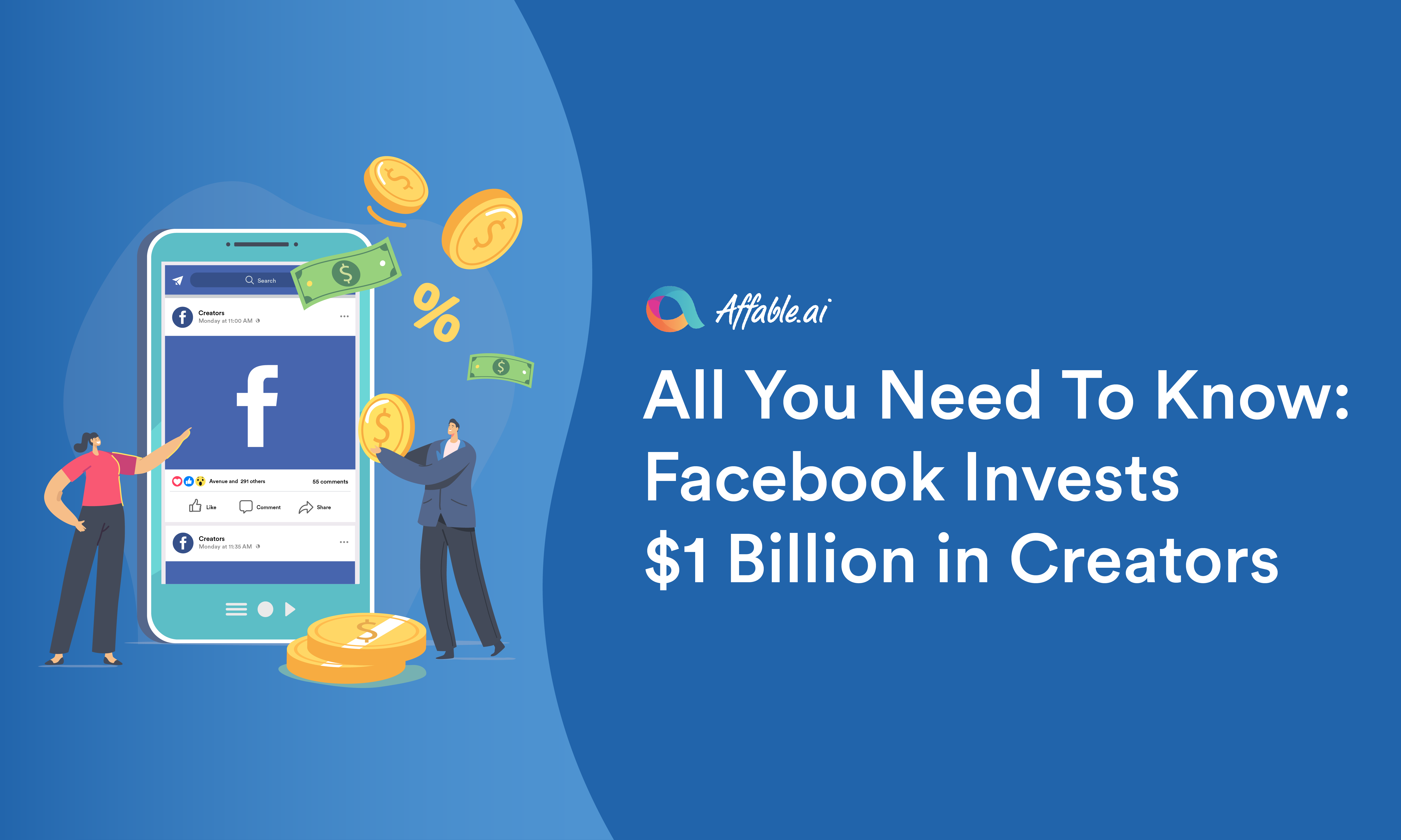 All You Need to Know: Facebook Invests $1 Billion in Creators