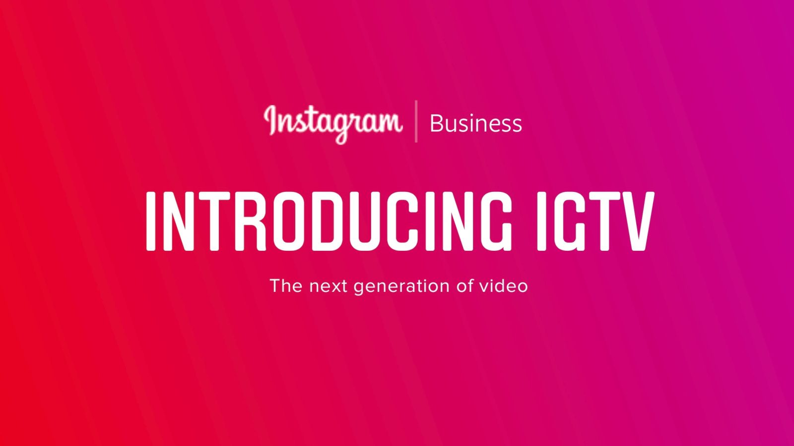 All About Instagram's Newest Feature: IGTV