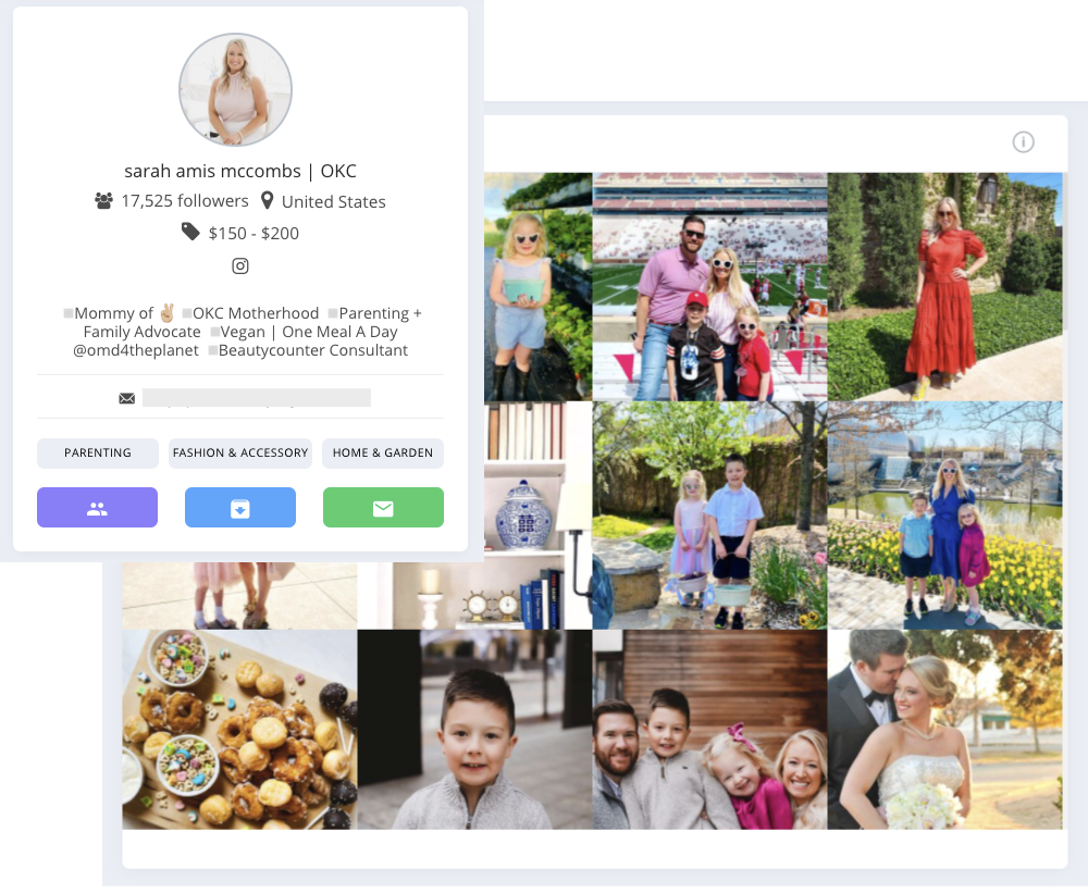 Affable Influencer Marketing Platform helps with the latest data about any influencer
