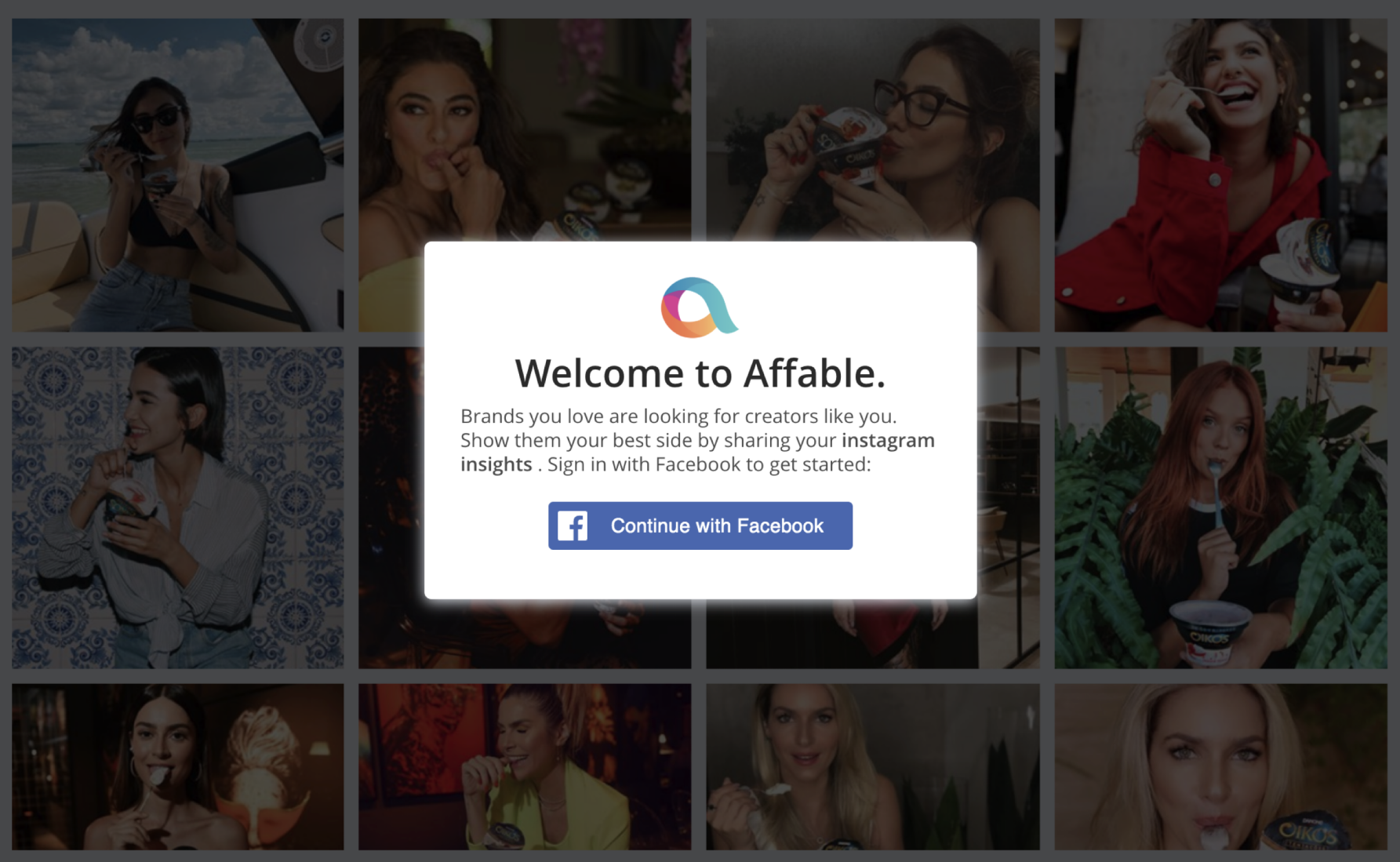 Affable Influencer Marketing Platform helps you collect influencer's business insights