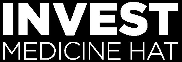 White Invest Medicine Hat Logo