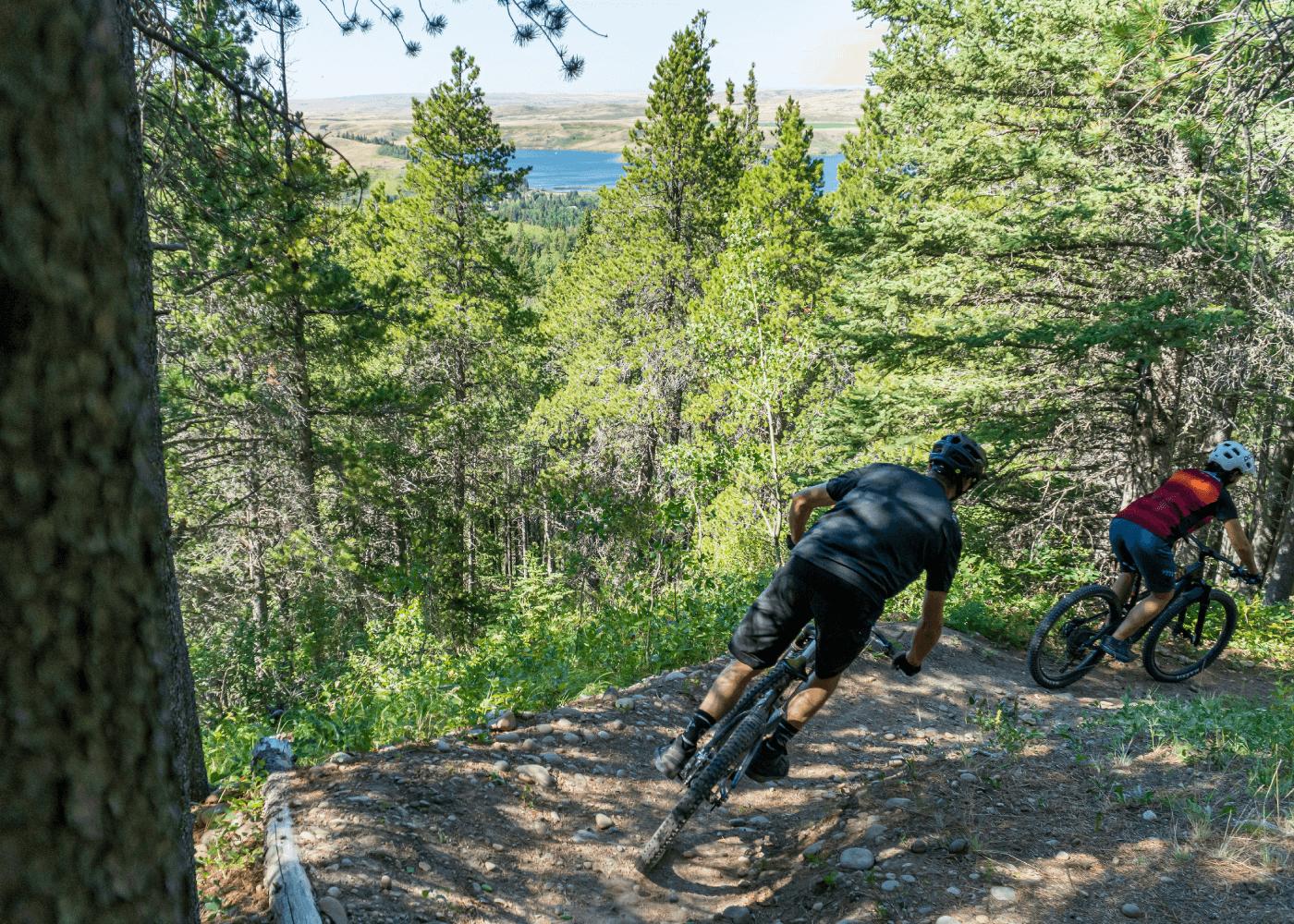 Bike Riding in Cypress Hills Interprovincial Park