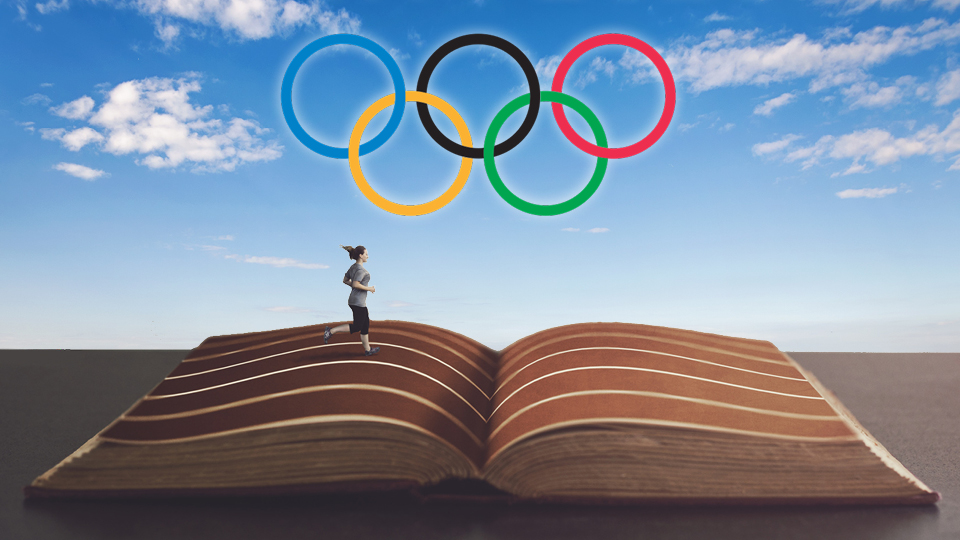 Adult Olympic Summer Reading Challenge