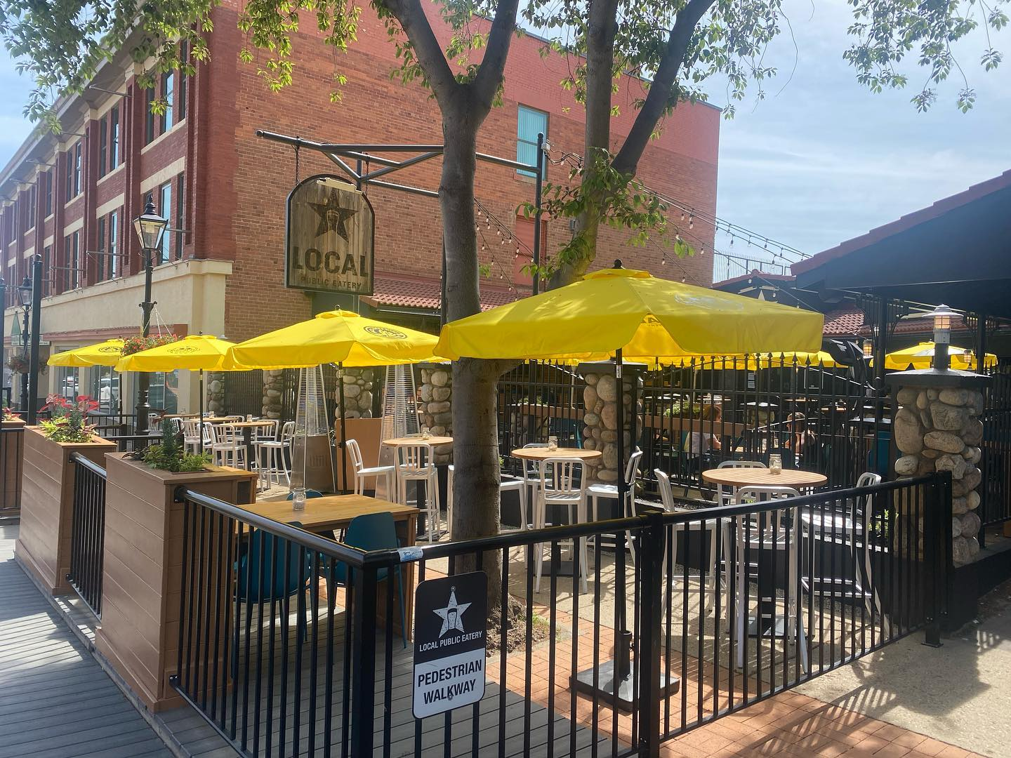 Dog Friendly Patio at Local