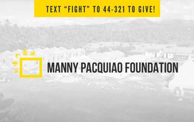 Manny Paquiao Foundation