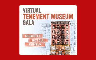 Tenement Museum Virtual Gala