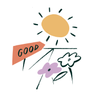 Every Action for Good - Illustration