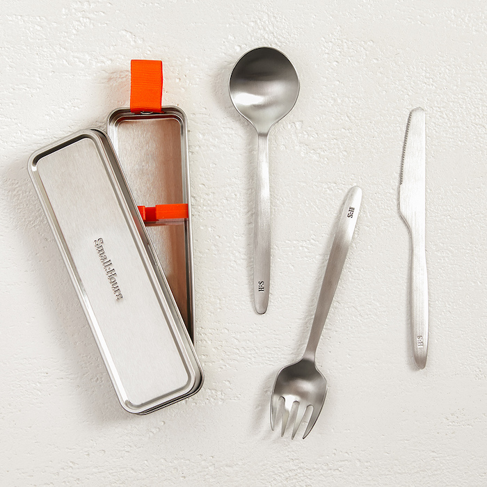 Small:Hours Travel Cutlery Set