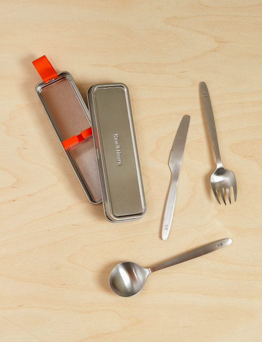 Small:Hours Cutlery Set