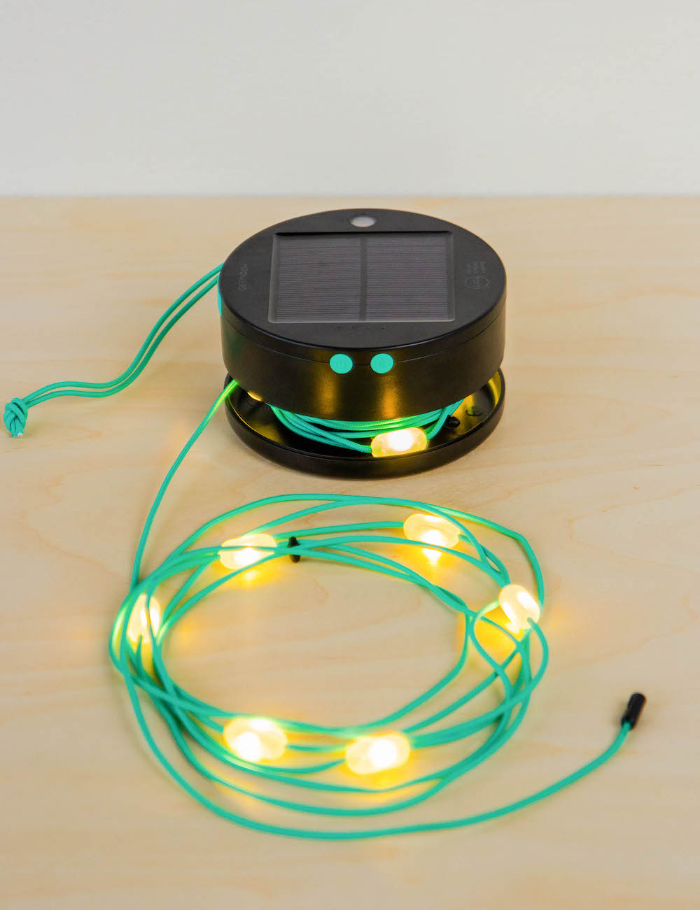 MPOWERED Luci Solar String lights look inside