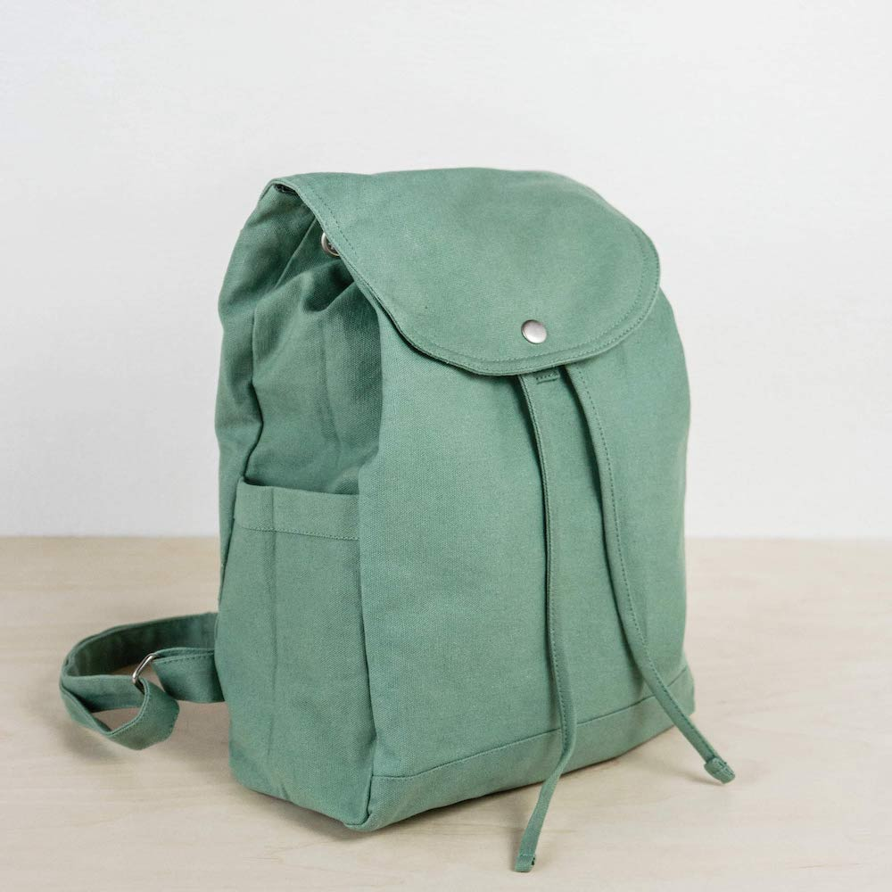 palm + perkins canvas backpack mobile li
