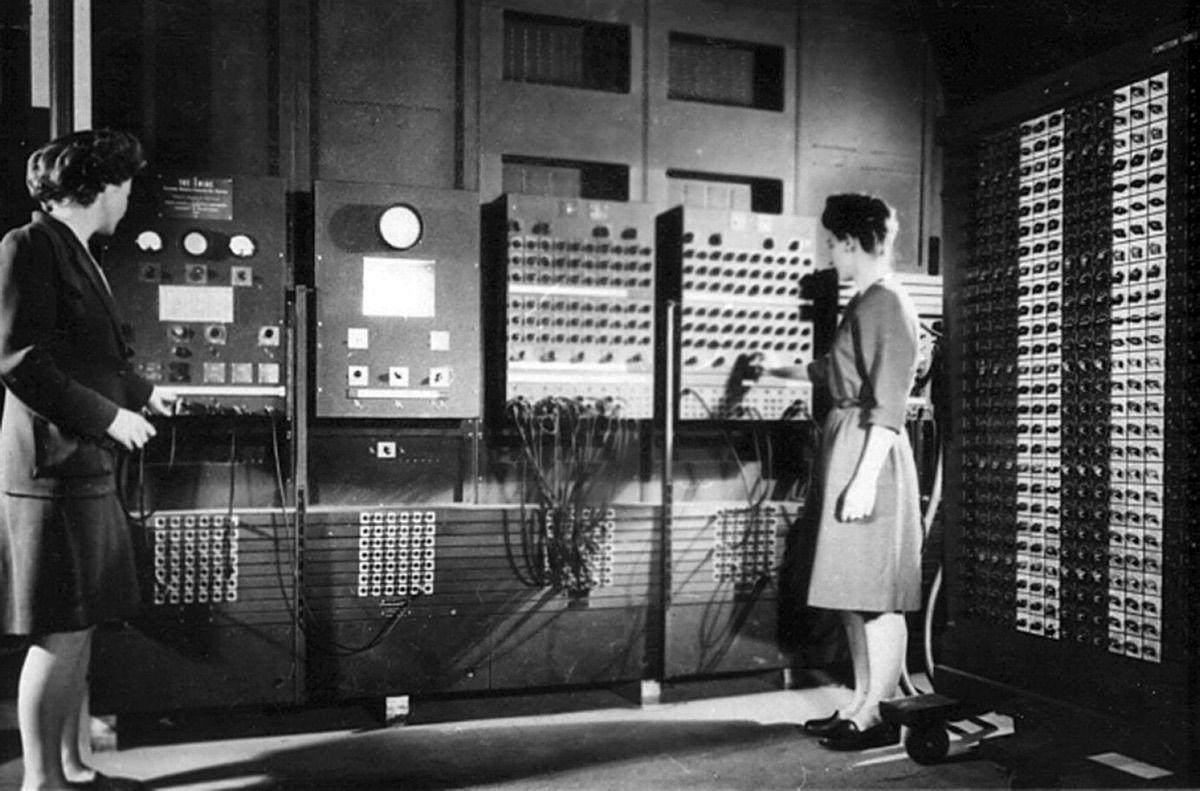 COLOSSUS, ENIAC, AND EDVAC