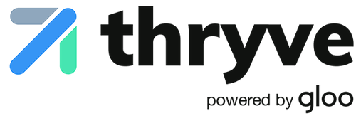 Thryve powered by gloo logo