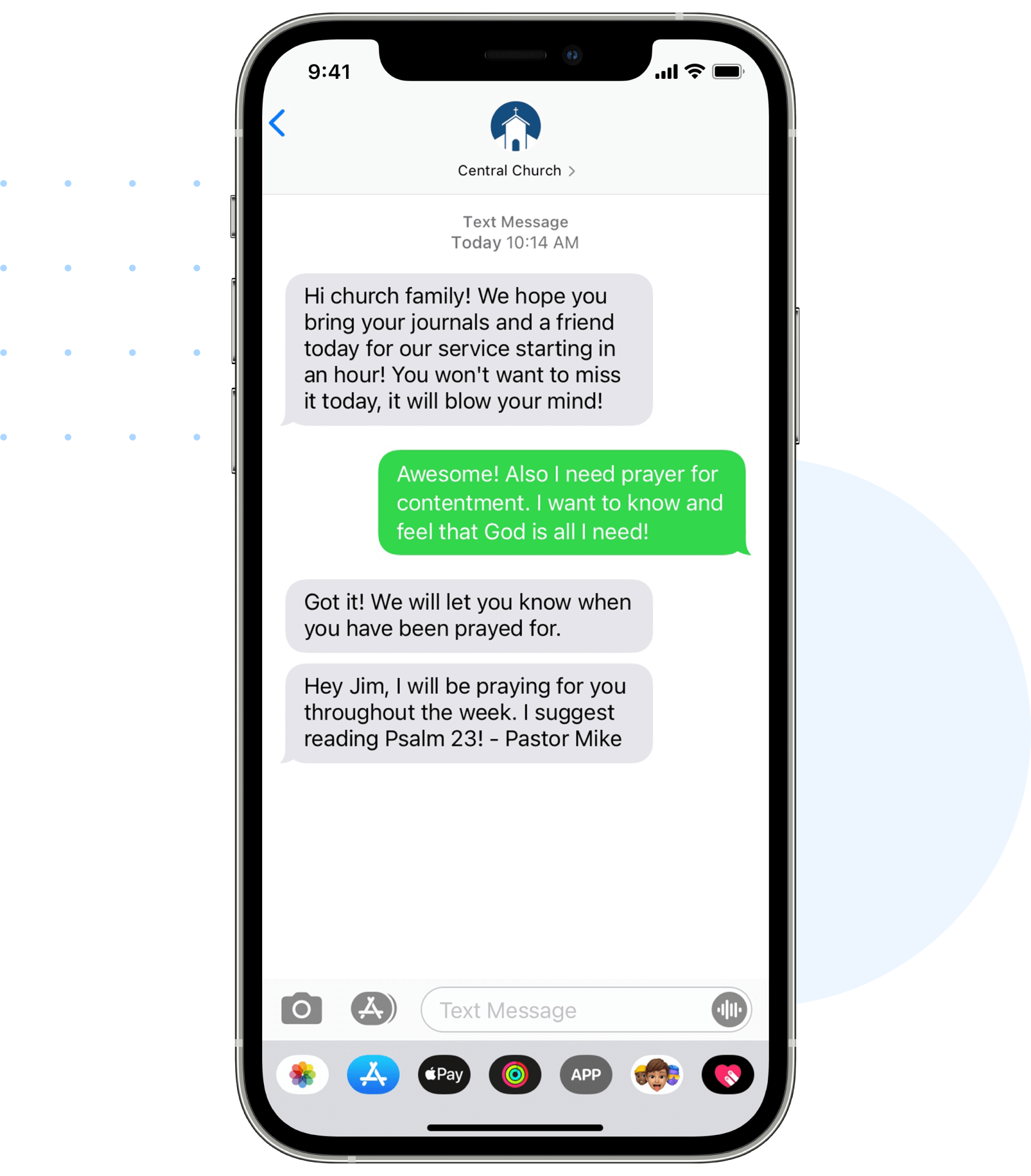 Have two-way texting conversations with your people.