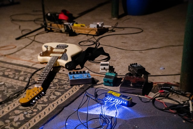 Guitar and pedals