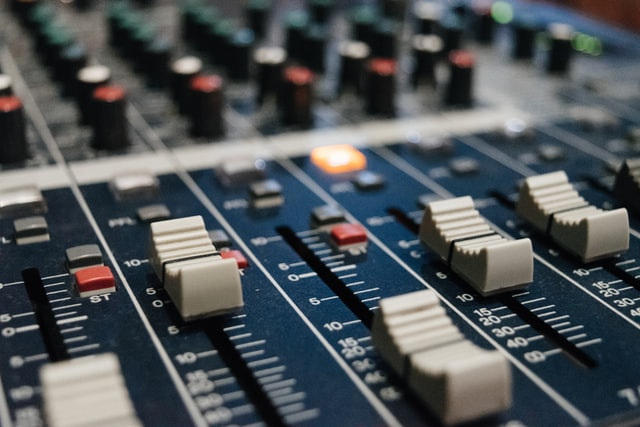 Music production equipment and controls
