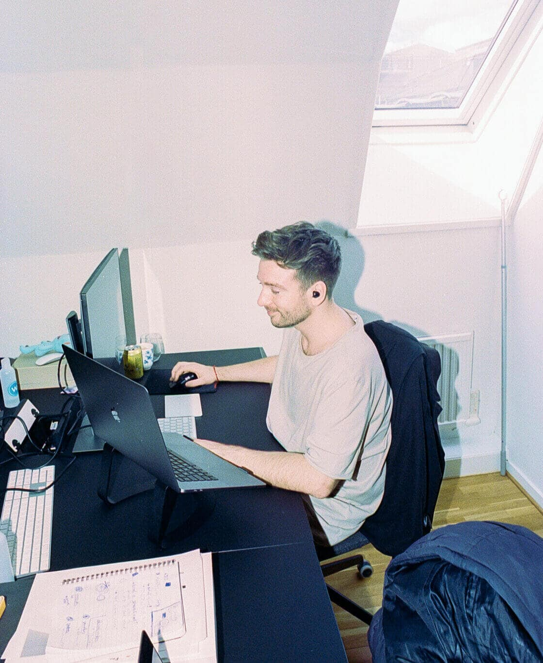 One employee at Worksome working