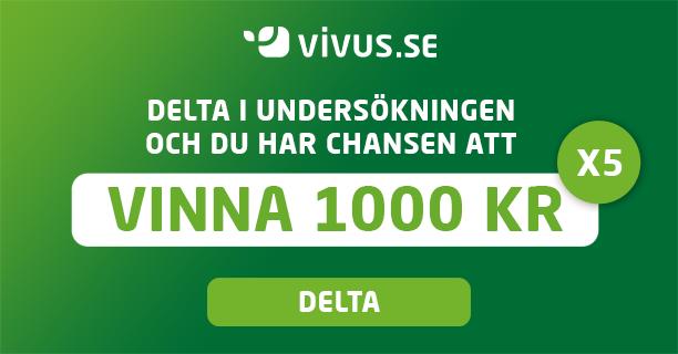 Vinn 1 000 SEK! En unik möjlighet FÖR ALLA! | Vivus.se