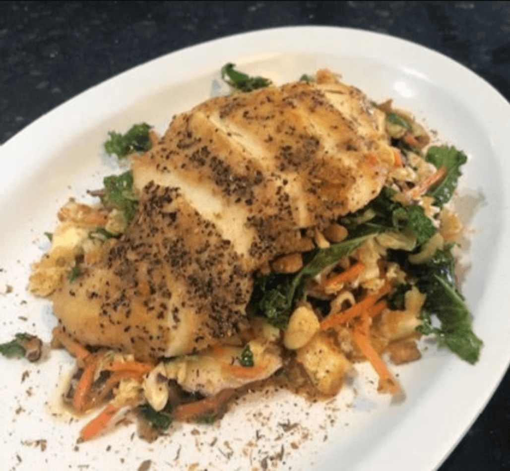 Recipes in Recovery: Ginger-Garlic Chicken Salad