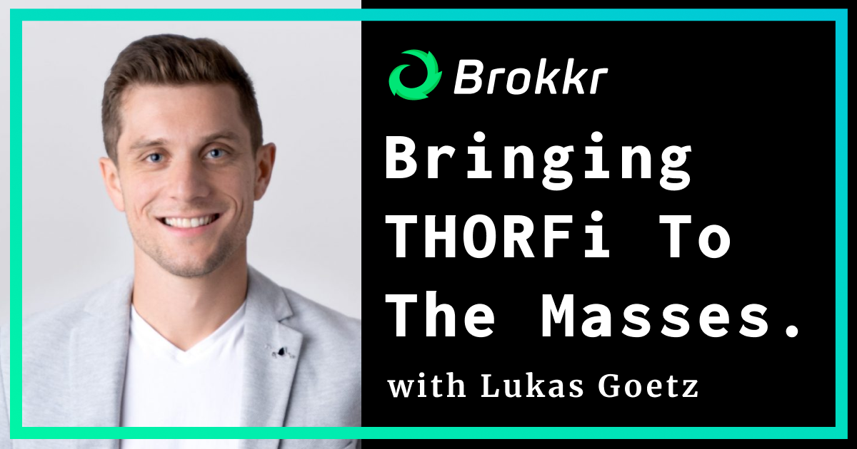 We're back with the next installment of the RUNEBase podcast - this week featuring Lukas Goetz, the Co-Founder and CEO of Brokkr Finance. During this episode, we discussed Bringing THORFi to the Masses, $BRO Token, and more!