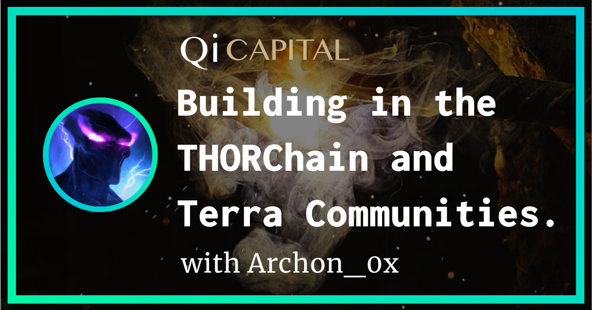 Archon is one of my contemporaries at Qi Captial, and he is also the host of the Qi Capital Podcast and he writes the Qi Capital blog.