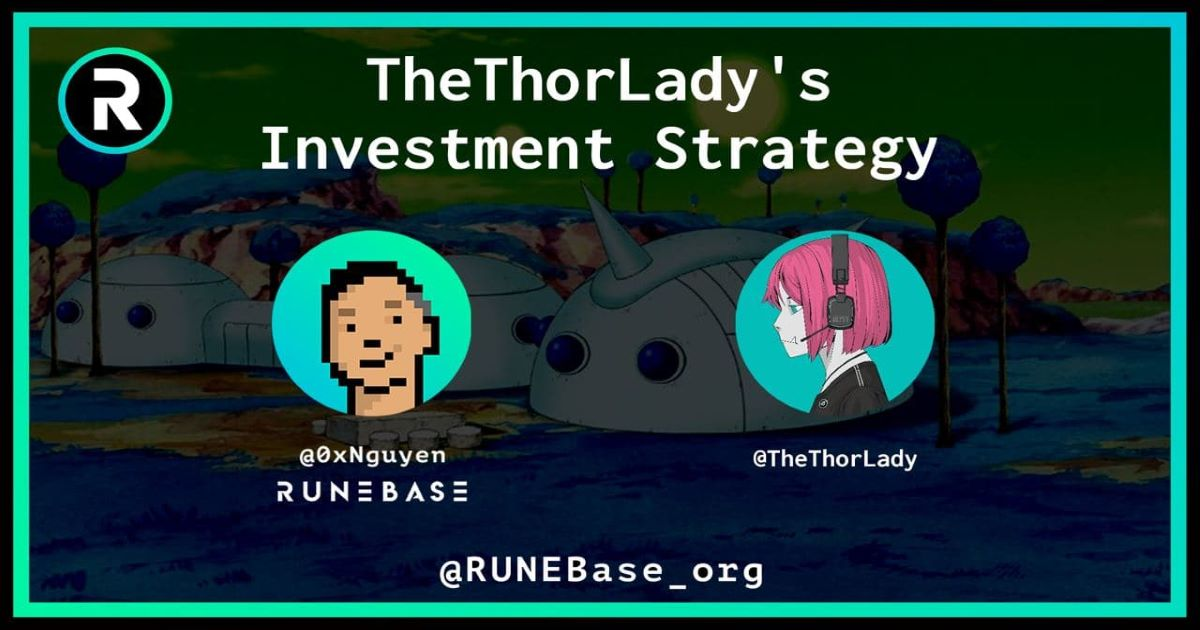 This week, I had the pleasure of chatting with TheThorLady. Anyone who is active in the THORChain community recognizes TheThorLady as one of the best ambassadors for the THORChain community.