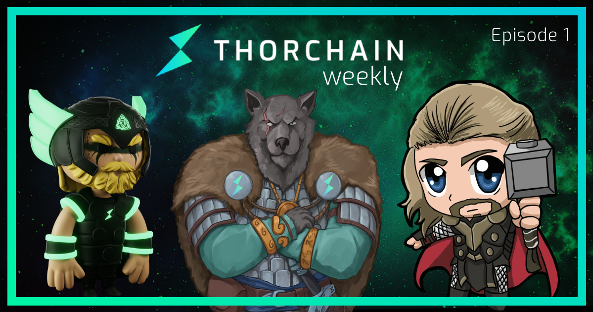 THORChain Weekly is a regular Twitter Spaces event with members of the THORChain ecosystem.