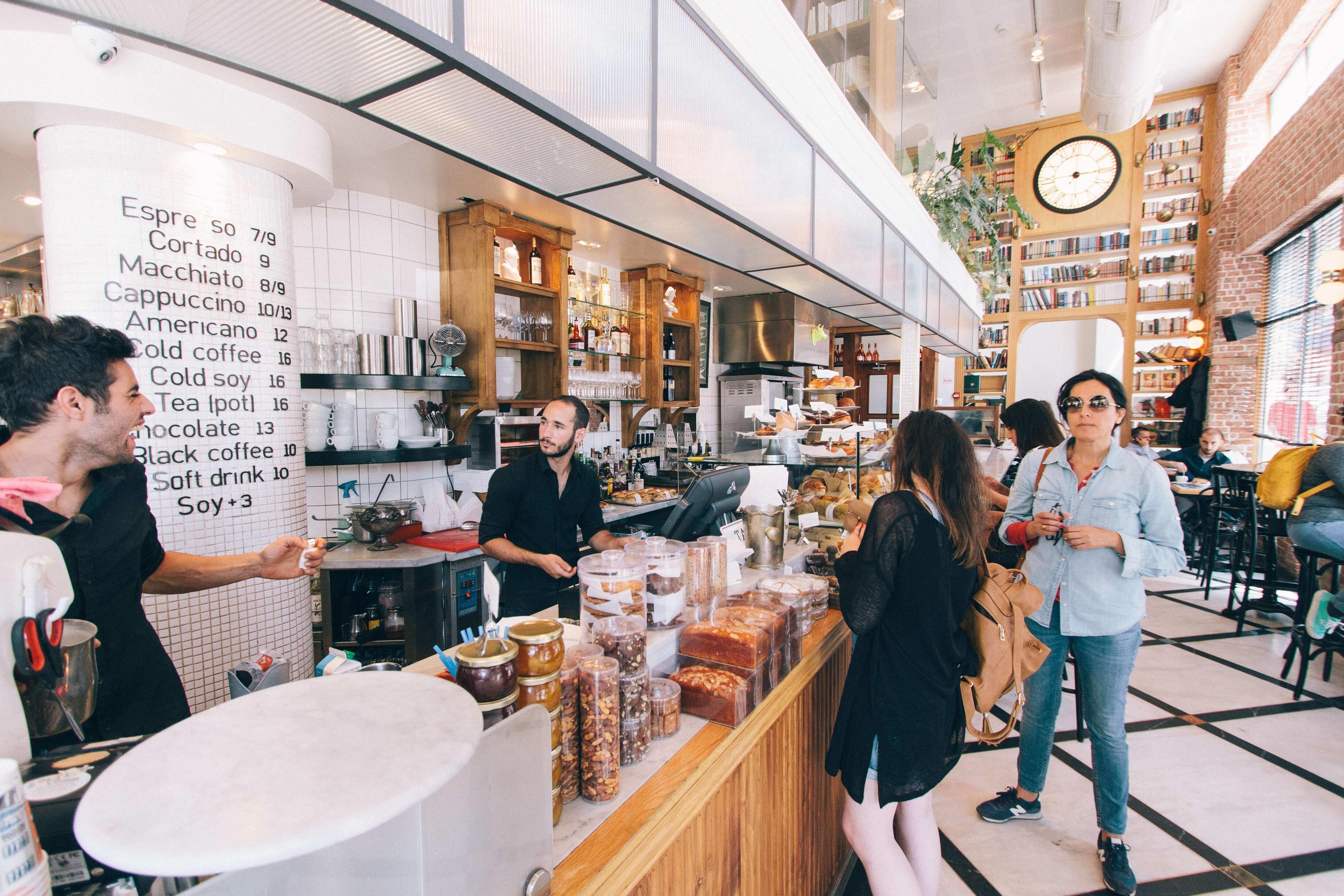 Personalsystem för restauranger, hotell, caféer och barer
