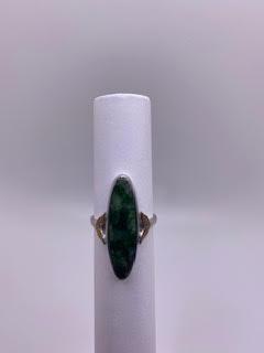 Green & Silver Ring
