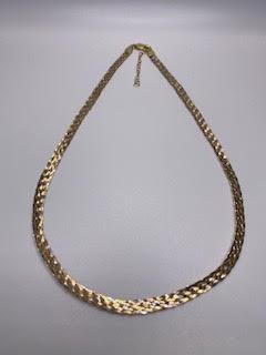 3 Color Silver Necklace