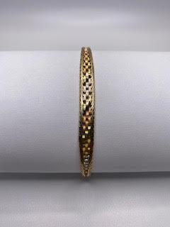 3 Color Gold Bracelet