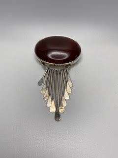 Vintage Mexican Silver Pendant
