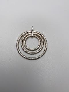 Gold/Silver Circle Pendant