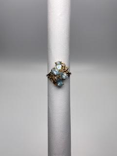 Gold & Topaz Ring