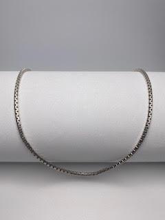 Sterling Silver Heavy Box Chain