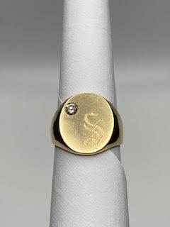 Gold Insignia Ring